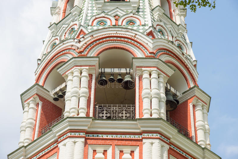 Belfry in Shipka Monastery stock photo
