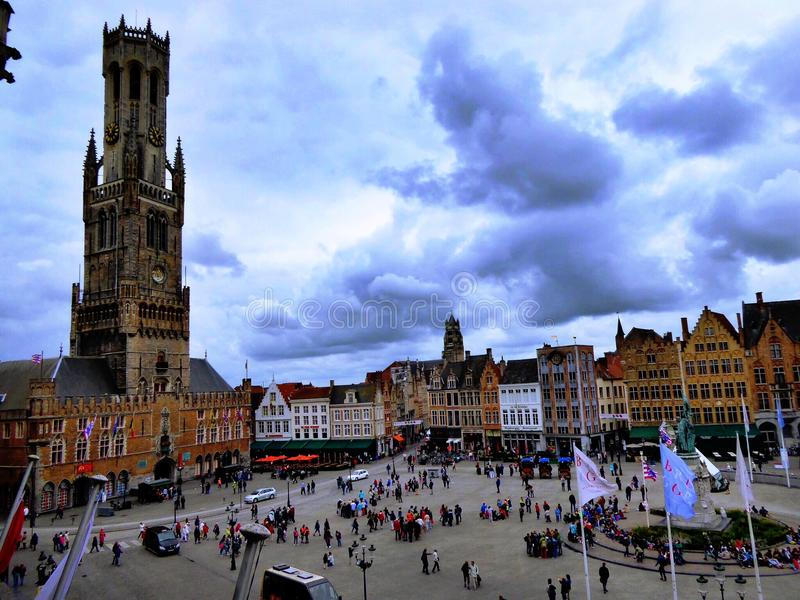 Belfry tower. royalty free stock photography