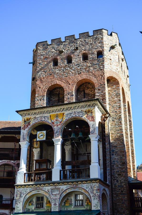 Belfry-Turm stockfotos