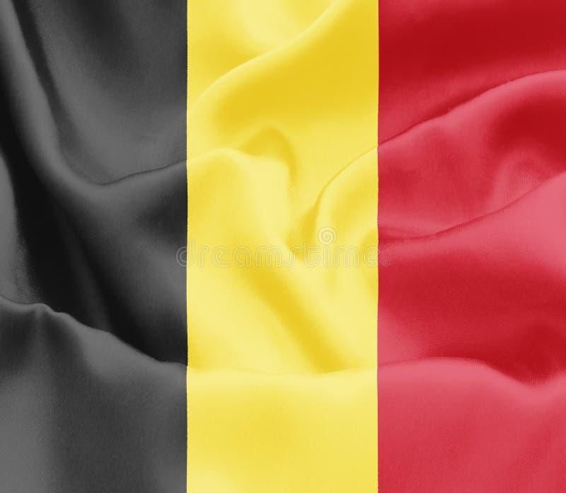 Belg flaga - Belgia zdjęcia stock