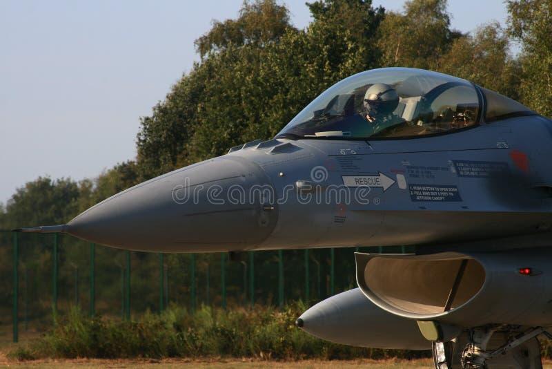 BELGA F -16 immagini stock libere da diritti
