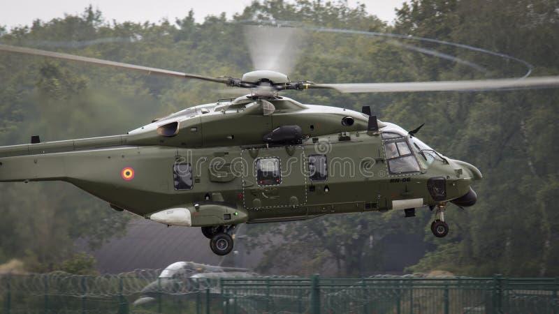 Belga NH-90 immagine stock libera da diritti
