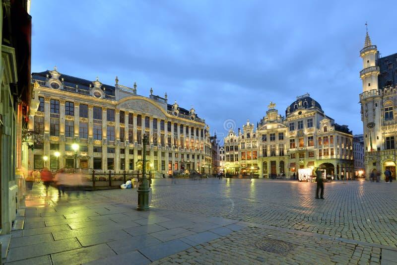 België, Brussel, Grotte Markt stock afbeeldingen