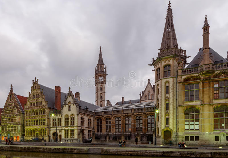 belgië gent stock foto's