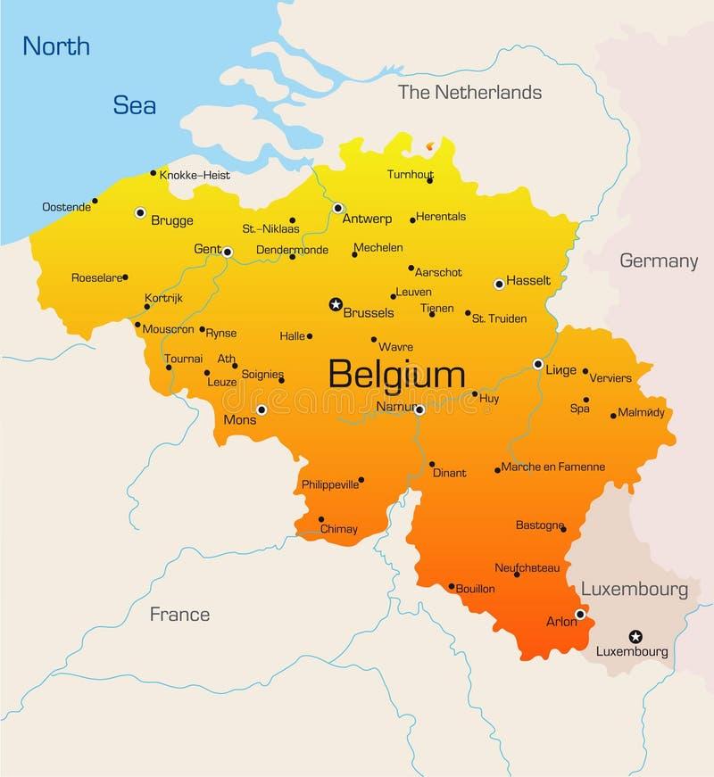 Belgia ilustracji