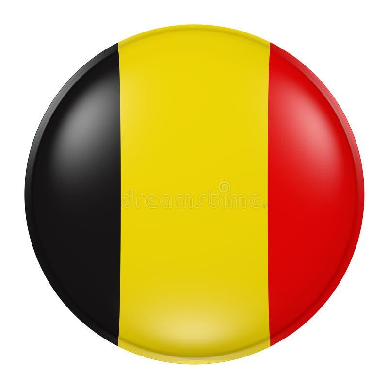 Belgia guzik ilustracji
