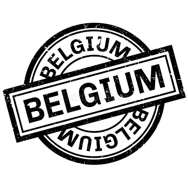 Belgia pieczątka ilustracji