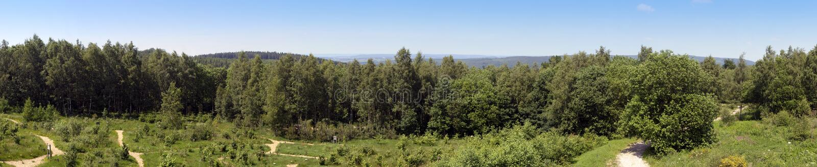Download Belgian Ardennes stock photo. Image of cultivated, forest - 5430382