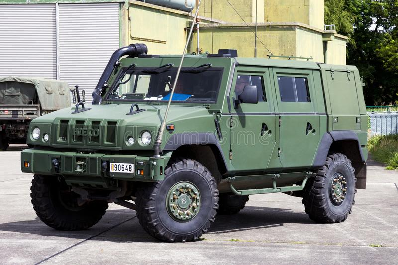 Iveco LMV Light Multirole Vehicle Is A 4WD Tactical Vehicle