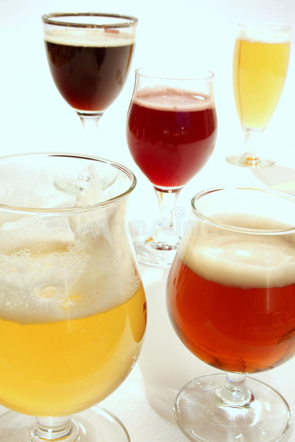 Belgian beer royalty free stock photography