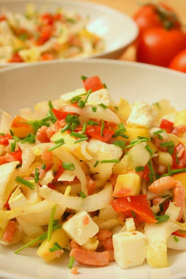 Free Belgian Endive Salad Stock Photography - 4549552