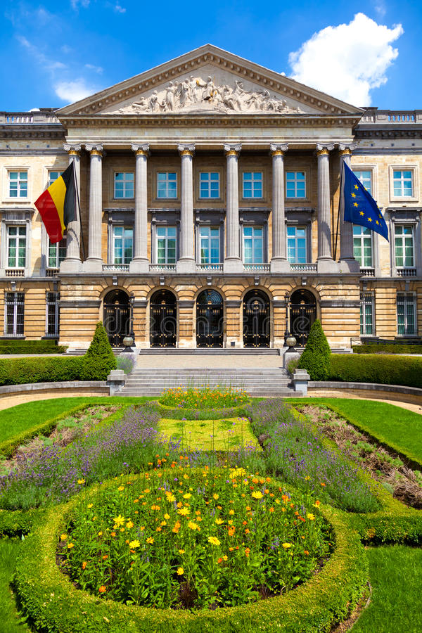 Download Belgian Federal Parliament, Brussels Stock Image - Image: 15294435