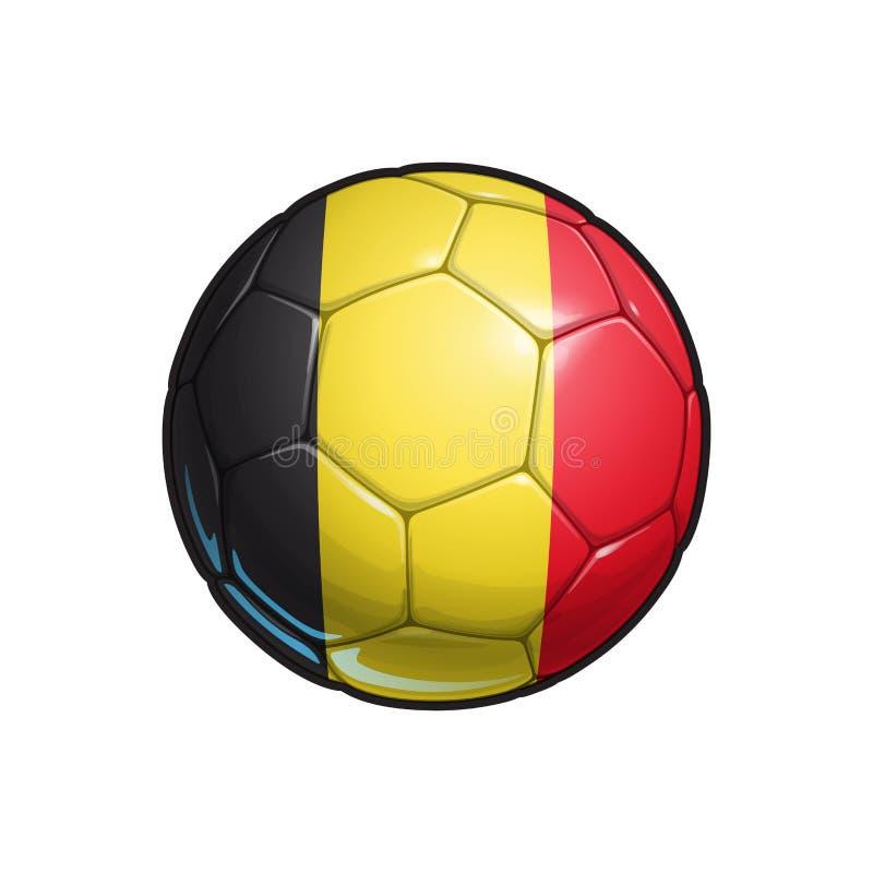 Free Belgian Flag Football - Soccer Ball Royalty Free Stock Images - 119031039