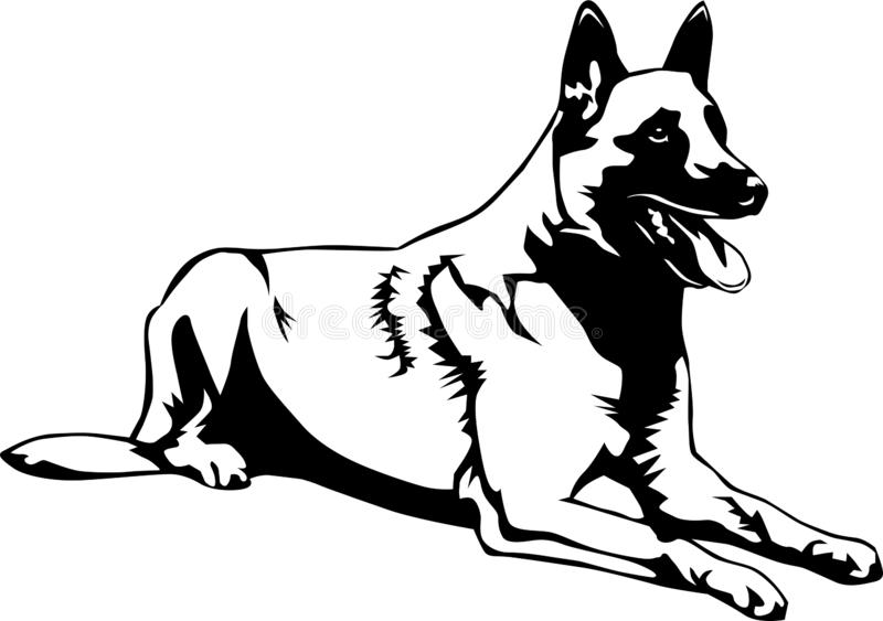 Dog Breed Coloring Pages | HubPages | 563x800