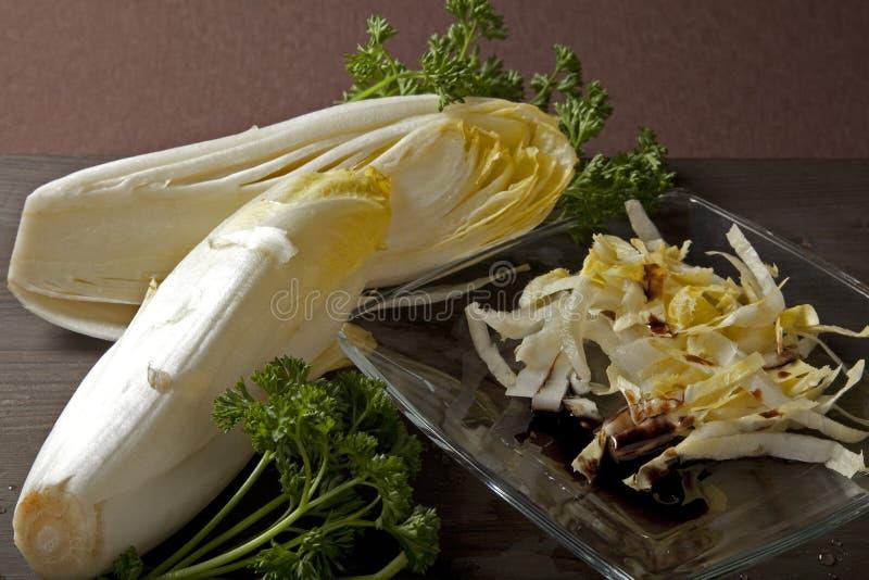 Belgian Salad On The Table Stock Photos