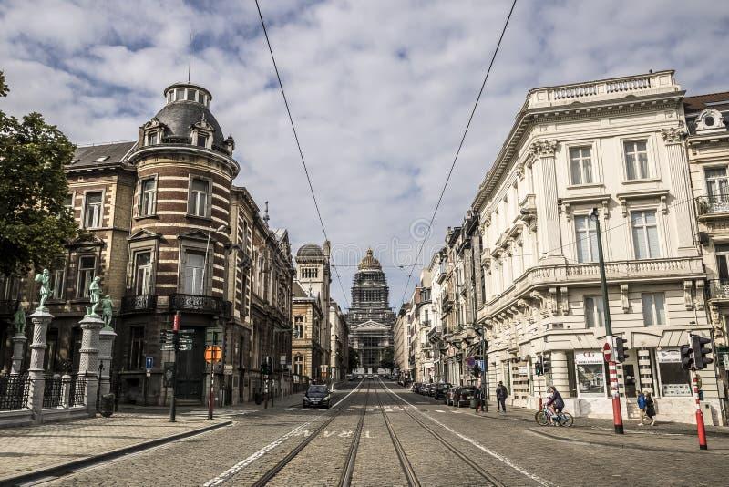 Belgien brussels royaltyfria bilder