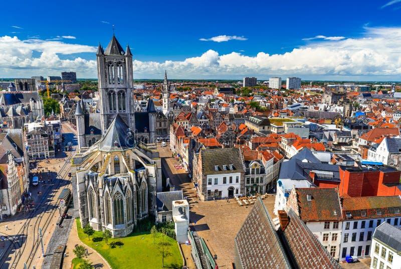 Belgien gent royaltyfria bilder