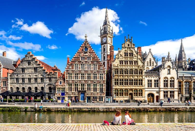 Belgien gent arkivfoto