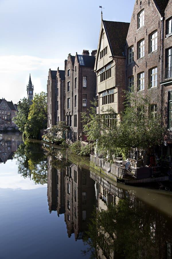Belgien ghent royaltyfria bilder