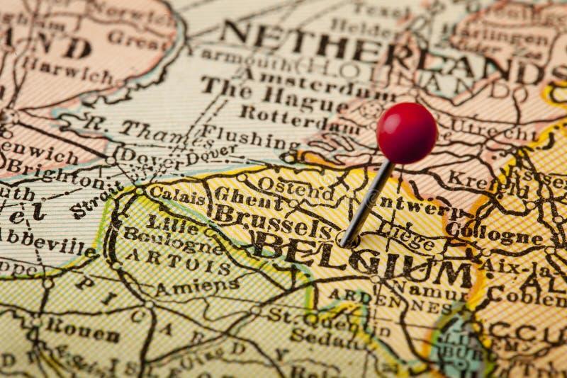 Belgien und Brüssel lizenzfreies stockfoto