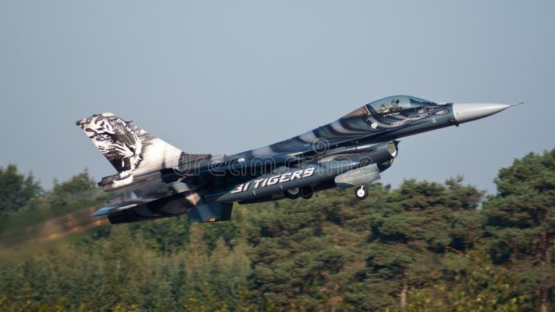 BelgierF-16 stockfoto
