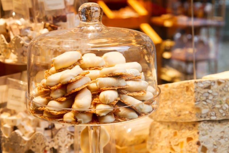 Belgijski czekolada sklep zdjęcie stock
