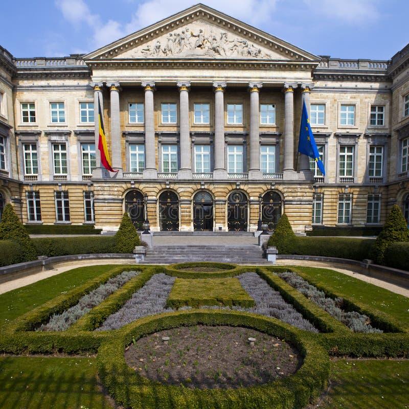 Belgijski parlamentu budynek w Bruksela zdjęcia royalty free