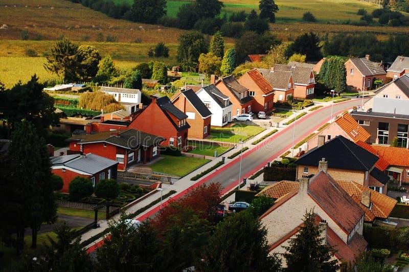 belgijski sąsiedztwo zdjęcia stock