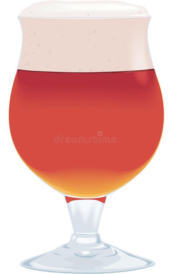 Belgisch Ale Vector Illustration stock illustratie