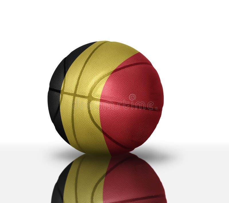 Belgisch basketbal royalty-vrije illustratie