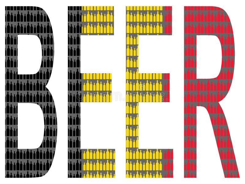 Belgisch bier vector illustratie