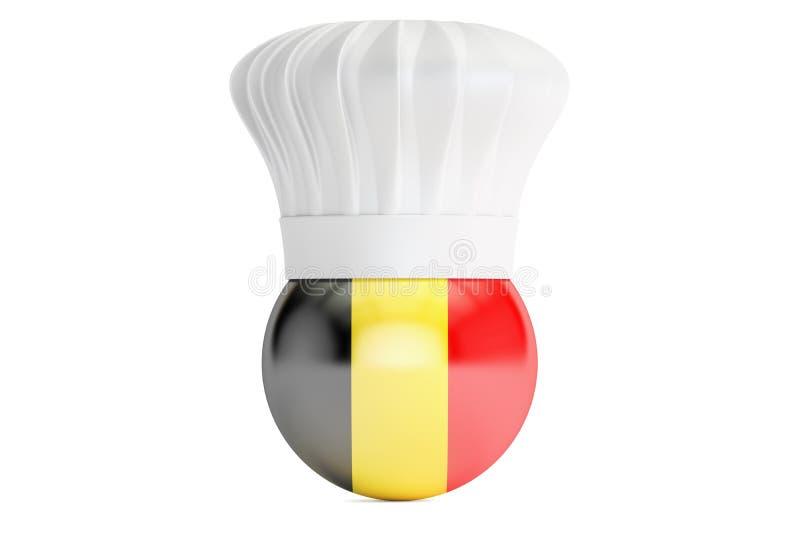 Belgisch keukenconcept stock illustratie