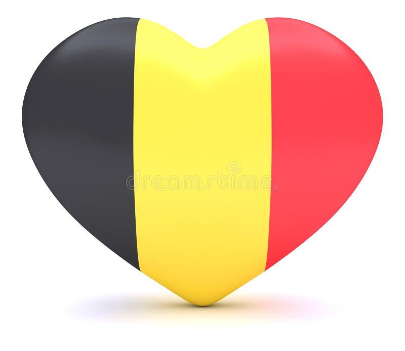 Belgisch Vlaghart, 3d illustratie stock illustratie
