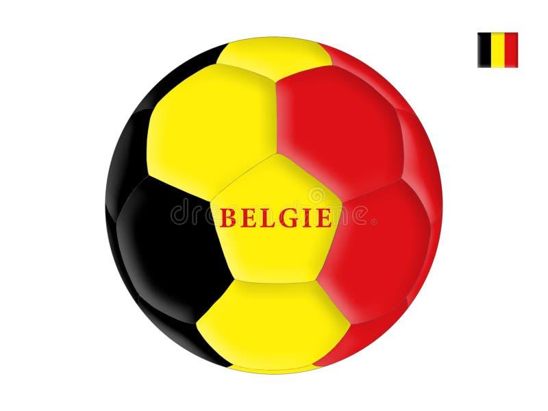 Belgisch voetbal stock illustratie