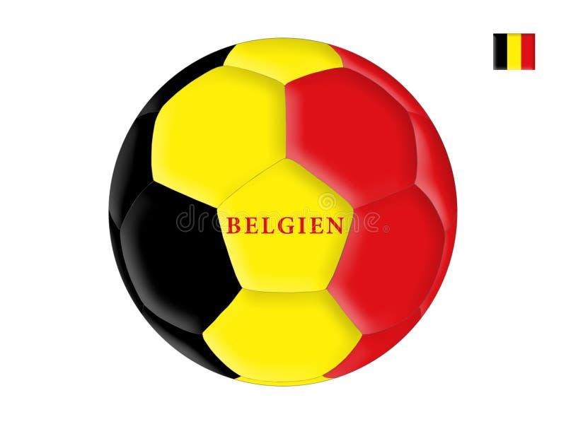 Belgisch voetbal vector illustratie