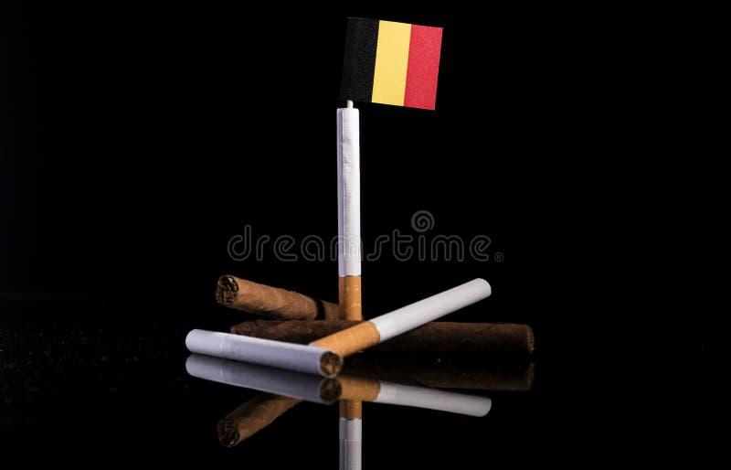 Download Belgische Flagge Mit Zigaretten Und Zigarren Stockbild - Bild von fabriken, lebensstil: 96933993