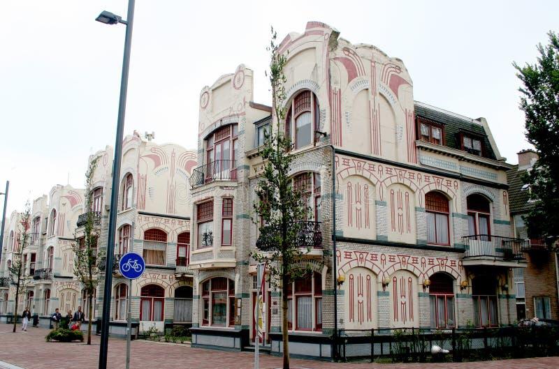 Belgische Proefhuizen stock afbeeldingen