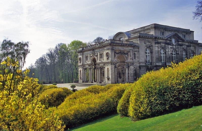 Belgisches Royal Palace in Laeken stockfotos