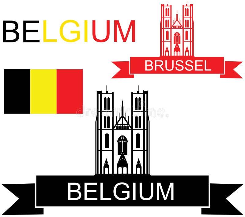 belgium illustration libre de droits