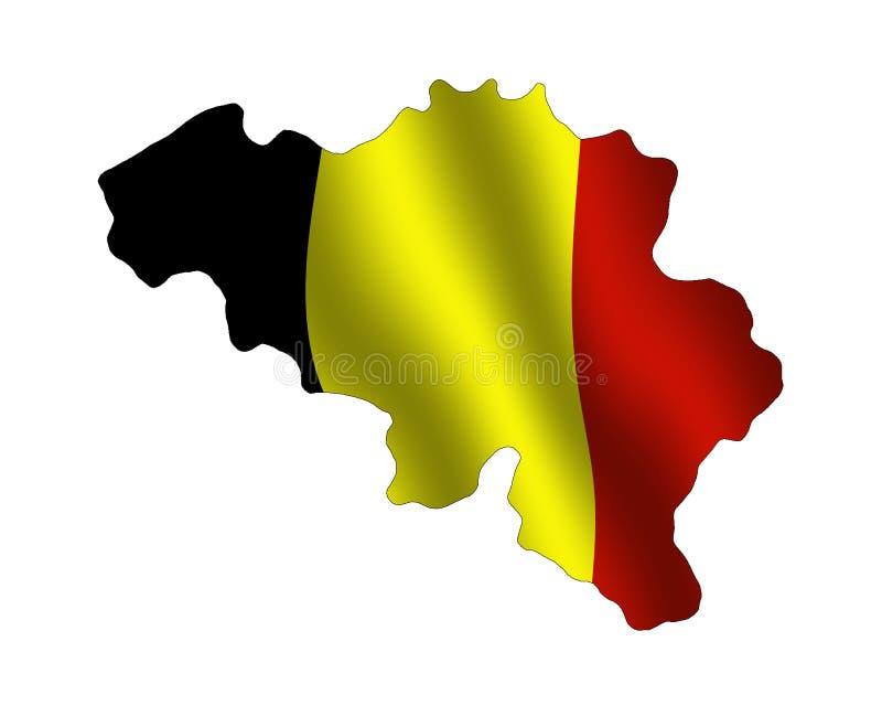 Download Belgium stock illustration. Image of belgian, outline, geography - 56829