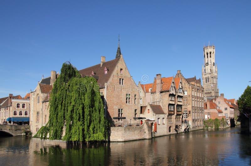 belgium Bruges obraz royalty free