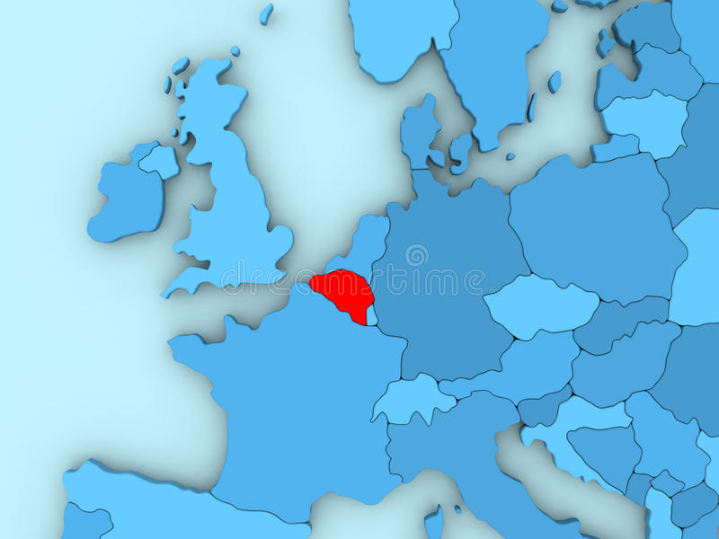 Belgium on 3d map stock illustration illustration of highlighted download belgium on 3d map stock illustration illustration of highlighted 86431679 gumiabroncs Images