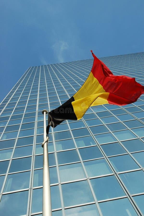 Belgium flag stock images