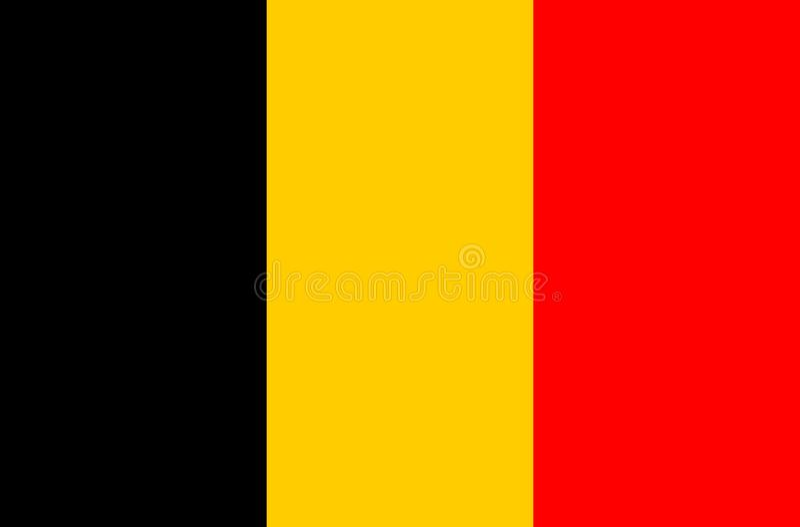 Belgium Flag, Vector Icon, Illustration. Belgian Flag With ...