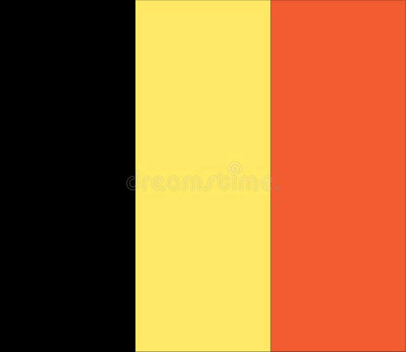belgium flaga fotografia stock