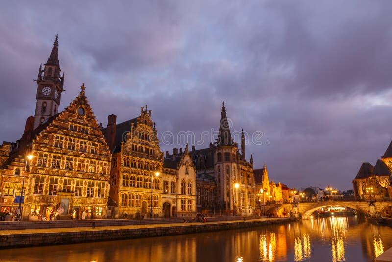 belgium gent fotografia stock libera da diritti