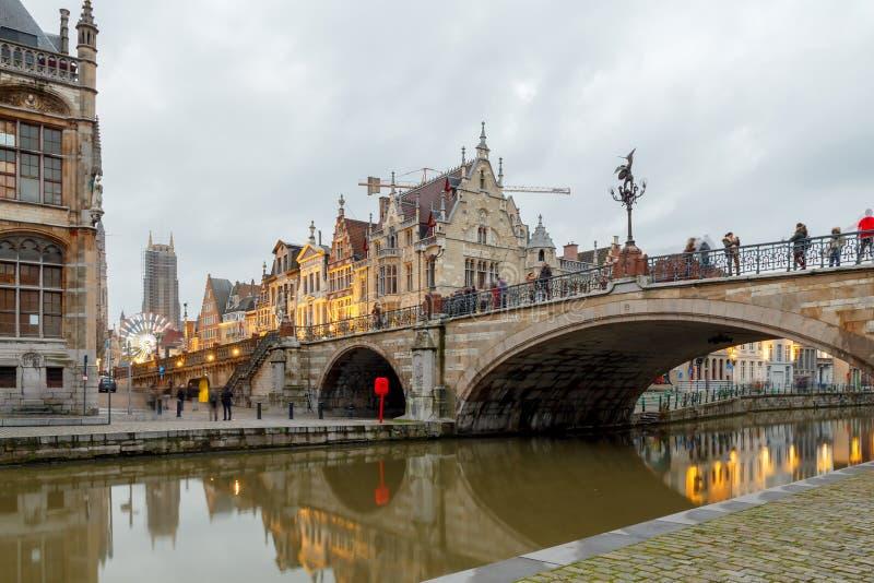 belgium gent immagine stock libera da diritti
