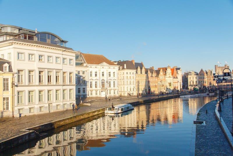 Belgium. Gent. royalty free stock images