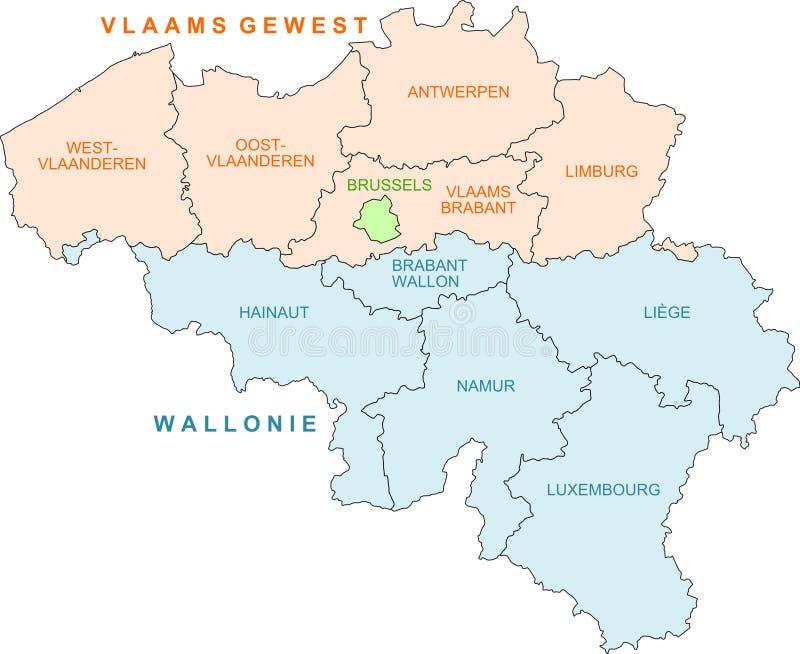 download belgium map stock illustration illustration of illustration 12343098
