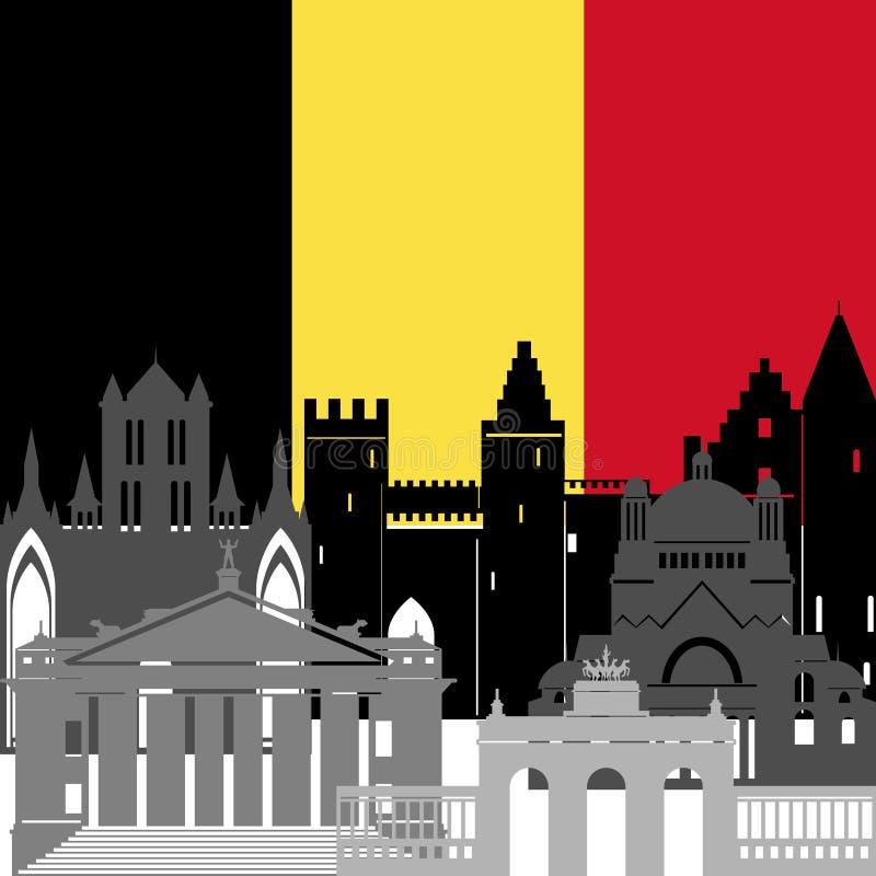 Belgium Stock Vector